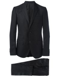 Gucci - Micro Dots Patterned Suit - Lyst