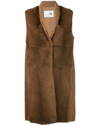 Manzoni 24 - Sleeveless Fur Jacket - Lyst
