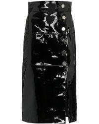 SKIIM - Side Slit Pencil Skirt - Lyst