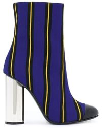 Marco De Vincenzo - Striped Ankle Boots - Lyst