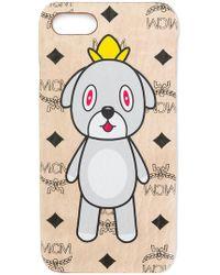 MCM - Monogram Dog Print Iphone 6/7 S Case - Lyst
