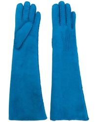 Maison Fabre - Shearling Long Gloves - Lyst