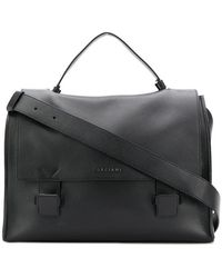 Orciani - Flap Shoulder Bag - Lyst