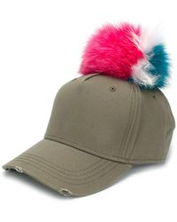 Mr & Mrs Italy - Pom-pom Cap - Lyst