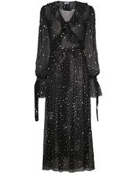 Ashish - Ruffled Sequinned Wrap Dress - Lyst