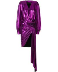 Alexandre Vauthier - Sash Detail Dress - Lyst