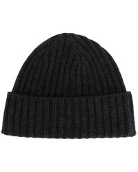 N.Peal Cashmere - Ribbed Beanie - Lyst