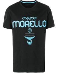 Frankie Morello - Printed Short Sleeved T-shirt - Lyst