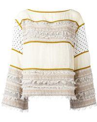 See By Chloé - Striped Sweatshirt - Lyst