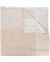 Peserico - Panelled Scarf - Lyst