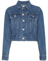 RE/DONE - Originals Trucker Denim Jacket - Lyst