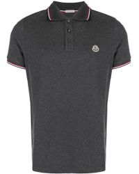Moncler - Basic Polo Shirt - Lyst