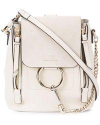 Chloé - Mini Faye Backpack - Lyst
