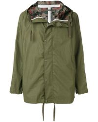Sempach - Camouflage Lined Parka - Lyst