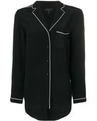 Rag & Bone - Contrast Trim Shirt - Lyst
