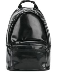 AMI - Logo Patch Backpack - Lyst