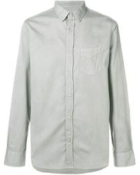 Officine Generale - Lipp Stitch Shirt - Lyst