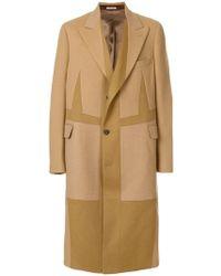 Alexander McQueen - Однобортное Пальто Свободного Кроя - Lyst