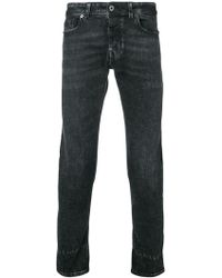 Diesel Black Gold - Skinny Jeans In Hand-scratched Denim - Lyst