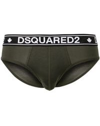 DSquared² - Logo Briefs - Lyst