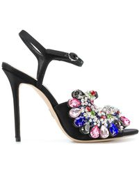 Paula Cademartori - Embellished Sandals - Lyst