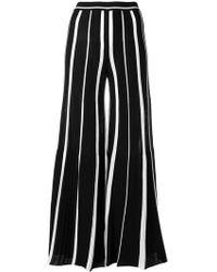 Missoni - Striped Wide Leg Trousers - Lyst