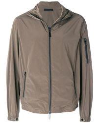 Paolo Pecora - Zipped Hooded Jacket - Lyst