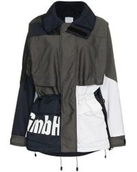 GmbH - X Browns Jeenu Logo Print Drawstring Anorak Jacket - Lyst