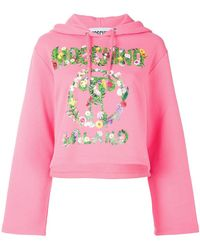 Moschino - Question Mark Hoodie - Lyst