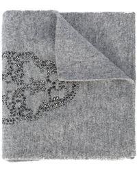Thomas Wylde - Iron Crystal-embellished Scarf - Lyst