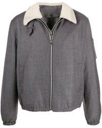 Helmut Lang - Layered Contrasting-collar Jacket - Lyst