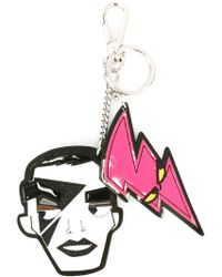 DSquared² - 'punk' Face Dual Keyring - Lyst