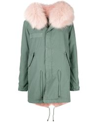 Mr & Mrs Italy - Trimmed Hood Parka - Lyst
