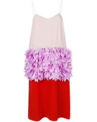 Marni - Midi Tricolour Dress - Lyst