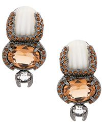 Camila Klein - Escaravello Earrings - Lyst