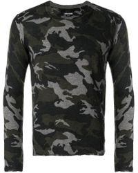 Zadig & Voltaire - Camouflage Jumper - Lyst