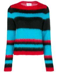 Dondup - Stripe Colour-block Sweater - Lyst