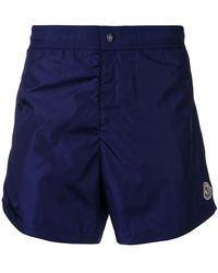 Moncler - Logo Swim Trunks - Lyst