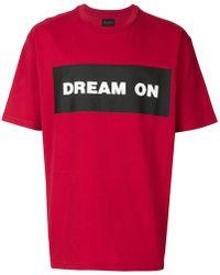 Mauna Kea - Dream On T-shirt - Lyst