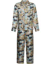 Prada - Printed Pyjamas - Lyst