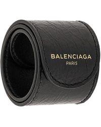 Balenciaga - Браслет С Принтом Логотипа - Lyst