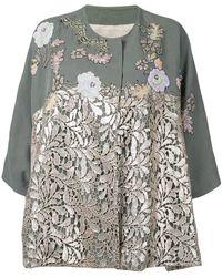 Antonio Marras - Lace Panel Jacket - Lyst