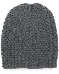 Danielapi - Chunky Knit Beanie - Lyst