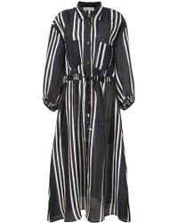 Apiece Apart - Robe-chemise à rayures - Lyst