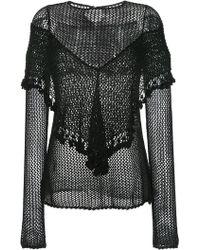 Kitx - Woven Long-sleeve Top - Lyst