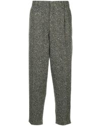 Kolor - Melange Tapered Trousers - Lyst