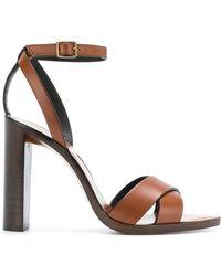 Saint Laurent - Tanger 105 Sandals - Lyst