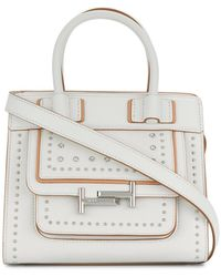Tod's | Double T Studded Crossbody Bag | Lyst