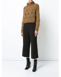 Rachel Comey - Turtleneck Destroyed Jumper - Lyst