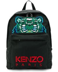 KENZO - Embroidered Logo Backpack - Lyst